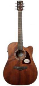 guitarra electroacústica Ibanez AW54 CE OPN