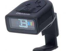 afinador para guitarra clip Daddario PW-CT-12 Micro Headstock Tuner