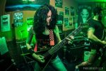 Female metal guitarist.Jackson Kevin Bond