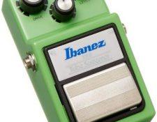 pedal overdrive guitarra Ibanez tubescreamer