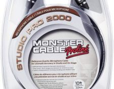 Monster Cable SP2000 m-10-XLR macho a XLR hembra Cable tramos de Cable de instrumentos (3 m