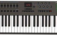 teclado midi Nektar Impact LX49 + Teclado MIDI USB, Controlador con integración DAW home studio