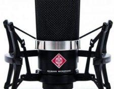 microfono condensador Neumann TLM 102 edición especial negro