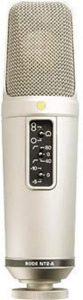 microfono condensador diafragma grande rode nt2a LOS MEJORES MICRÓFONOS 2020 POR MENOS DE 300 EUROS PARA PRINCIPIANTES