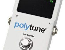 afinador Tc electronics polytune como afinar instrumentos