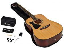 Ibanez V50NLJP-NT Jam Pack guitarra acustica para zurdos 2020