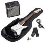 guitarra eléctrica y amplificador para principiantes 2020 fender squier stratocaster