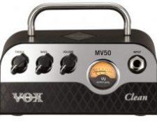 Amplificador cabezal hibrido guitarra principiantes Vox MV50 CLEAN 50w