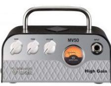 Amplificador cabezal hibrido guitarra principiantes Vox MV50 HIGH GAIN 50w