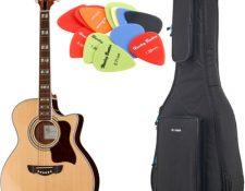 pack guitarra acustica 2020 Brümmer Acoustic Guitar Set 3