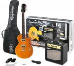 LAS MEJORES GUITARRAS PARA PRINCIPIANTES Epiphone Slash AFD LP Performance Pack