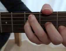 acorde Do mayor guitarra