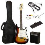 kit guitarra electrica y amplificador 2