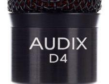 Audix D4 microfono bombo bateria
