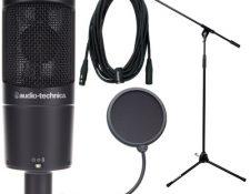Audio-Technica AT 2050 microfono home studio 2020