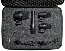 kit de microfonia para baterias shure pg set drummers microphones microfono para grabar bateria a precio asequible barato y bueno