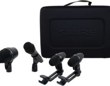 Shure PGA Drumkit 4 kit microfonos para grabacion baterias