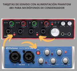 LOS 10 MEJORES MICROFONOS PARA PRINCIPIANTES 2020 alimentacion phantom 48v microfonos de condensador diafragma grande y pequeno