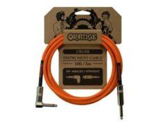 Cable de jack para guitarra o bajo Orange 3m color naranja cuales son los mejores cables de jack para guitarra 2020