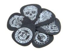 Set de puas heavy metal calaveras para guitarristas puas de calaveras
