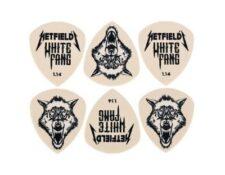 Set de puas de guitarra James Hetfield Metallica guitarristas heavy metal plectros Dunlop picks master of puppets ride the lightnings